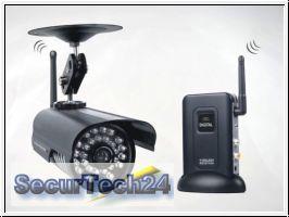 Funk Kamera System digital, Quad-Modus (SEC24-W219-CF1)