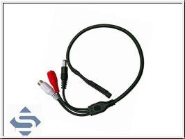 Verstärker-Mikrofon für Überwachungskameras SEC24-MIC2
