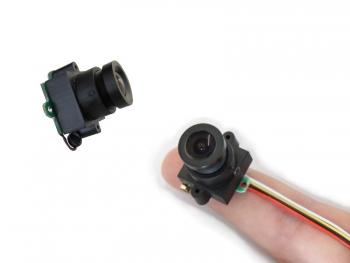 CCTV Mini Überwachungskamera mit Ton, 520TVL, 0.008 LUX, Weitwinkel (MC495A)