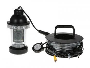 CCTV Unterwasserkamera 355° schwenkbar mit weißlicht LEDs, 420TVL, 92° Sichtwinkel, 20m Kabel (FC002)